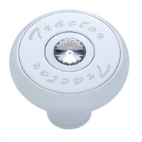 """Tractor"" Deluxe Air Valve Knob - Clear Diamond"
