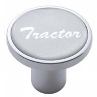 """Tractor"" Air Valve Knob - Silver Glossy Sticker"