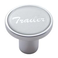 """""""Trailer"""" Air Valve Knob - Silver Glossy Sticker"""