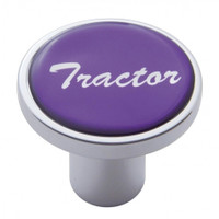"""Tractor"" Air Valve Knob - Purple Glossy Sticker"