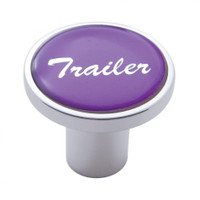 """Trailer"" Air Valve Knob - Purple Glossy Sticker"