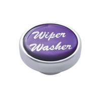 """Wiper/Washer"" Dash Knob - Purple Glossy Sticker"