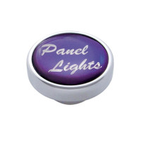 """Panel Lights"" Dash Knob - Purple Glossy Sticker"