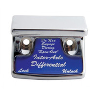 """Axle Differential"" Switch Guard - Blue Sticker"