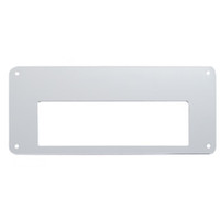 Freightliner Stainless Radio Face Plate - Cobra 29