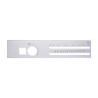 Freightliner Stainless A/C Control Plate W/ Recirculate Opening