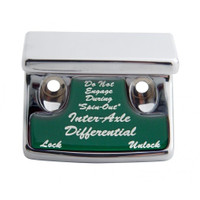 """Axle Differential"" Switch Guard - Green Sticker"