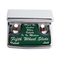 """Fifth Wheel"" Switch Guard - Green Sticker"