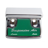 """Suspension Air"" Switch Guard - Green Sticker"