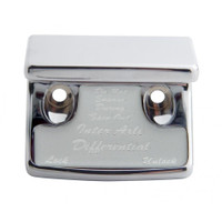 """Axle Differential"" Switch Guard - Silver Sticker"