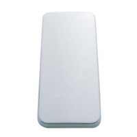 Peterbilt Stainless Steel Vent Door Cover - Plain