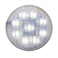 "9 LED 2"" Auxiliary/Utility Light - White LED/Clear Lens"