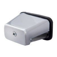Chrome Rectangular License Light