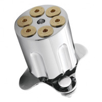 Gun Cylinder Steering Wheel Spinner