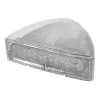 30 LED Peterbilt Low Profile Turn Signal Light - Amber LED/Clear Lens