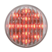 "13 LED 2-1/2"" Clearance/Marker Light - Red LED/Clear Lens"