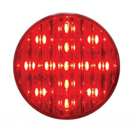 "13 LED 2-1/2"" Clearance/Marker Light - Red LED/Red Lens"