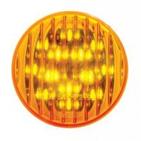 """13 LED 2-1/2"""" Clearance/Marker Light - Amber LED/Amber Lens"""