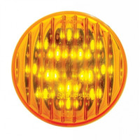 "13 LED 2-1/2"" Clearance/Marker Light - Amber LED/Amber Lens"