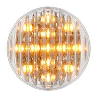 "13 LED 2-1/2"" Clearance/Marker Light - Amber LED/Clear Lens"