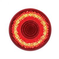 "9 LED 2"" Mirage Clearance/Marker Light - Red LED/Red Lens"