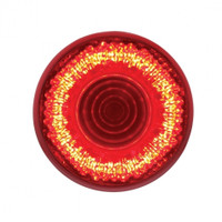 "9 LED 2"" Mirage Clearance/Marker Light - Red LED/Red Lens"