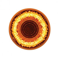 "9 LED 2"" ""Mirage"" Clearance/Marker Light - Amber LED/Amber Lens"