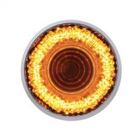 "9 LED 2"" ""Mirage"" Clearance/Marker Light - Amber LED/Clear Lens"