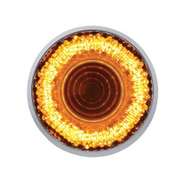 "9 LED 2"" ""Mirage"" Clearance/Marker Light - Amber LED/Clear Lens"