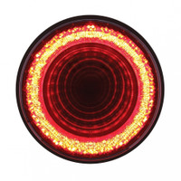 "24 LED 4"" Mirage Stop, Turn & Tail Light - Red LED/Red Lens"