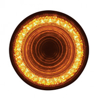 "24 LED 4"" Mirage Turn Signal Light - Amber LED/Amber Lens"