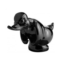 Black Angry Duck Hood Ornament
