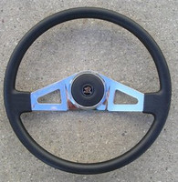"STEERING WHEEL 18"" MOLDED 2-SPOKE"