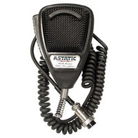 Astatic - 636L Noise Canceling 4-Pin CB Microphone, Black
