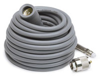K40 Antennas & Accessories - 18' Super Mini-8 CB Antenna Cable with Removable FME Connector