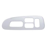 2006+ Peterbilt Window Switch Trim (4 RECTANGLE Holes) - Driver