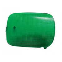 2006+ Peterbilt Rectangular Dome Light Lens - Green