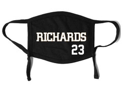 RICHARDS face mask (includes #)
