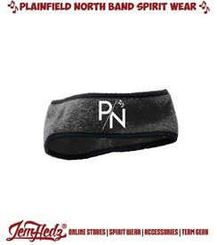 Black Fleece Headband with P/N logo in standard print