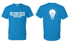 Sapphire Short Sleeve T-Shirt for Wilson Creek Eberhart Family