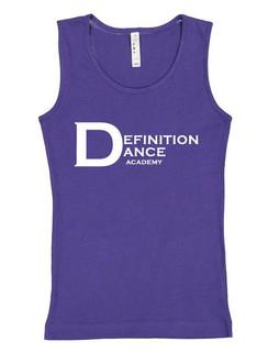 Purple DDA Youth Girls' Tank