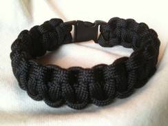 Black Paracord Bracelet
