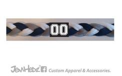 Navy/Grey/White Headband