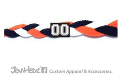 Orange/Black/White Headband
