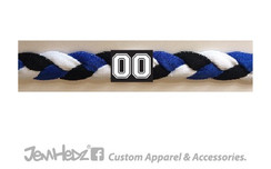 Royal/Black/White Headband