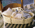 Organic Cotton Doll Basket