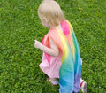 Rainbow Playsilk Scarf