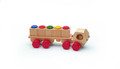 Wooden Steckmobil Stacking Truck