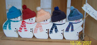 5 SNOWMAN ON SLED