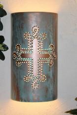 HR 107 cross/copper/patina